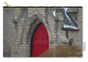 Church And The Red Door Carry-all Pouch
