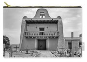 Church At San Ildefonso - Bw Carry-all Pouch