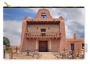 Church At San Ildefonso Carry-all Pouch
