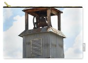 Church Bell Tower In Truchas In New Mexico Carry-all Pouch
