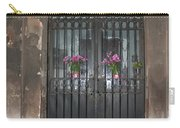 Church Doors And Flowers Carry-all Pouch
