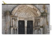Church Entrance - St  Thibault Carry-all Pouch