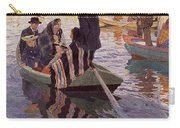 Church-goers In A Boat Carry-all Pouch