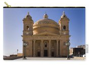 Church In Mgrr, Malta Carry-all Pouch