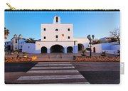 Church In Sant Josep Town On Ibiza Island Carry-all Pouch