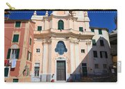 church in Sori. Italy Carry-all Pouch