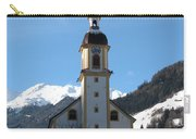 Church In The Austrian Alps Carry-all Pouch
