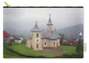 Church In The Mist Carry-all Pouch by Jeff Kolker
