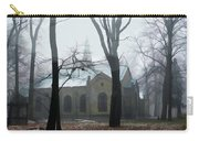 Church In The Misty Woods Carry-all Pouch