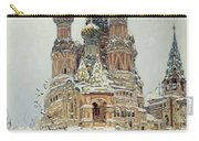 Church Of St. Basil In Moscow Carry-all Pouch