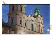 Church Of The Holy Cross At Night In Warsaw Carry-all Pouch