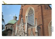 Church Of The Holy Trinity In Krakow Carry-all Pouch