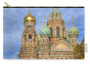 Church Of The Saviour On Spilled Blood. St. Petersburg. Russia Carry-all Pouch by Juli Scalzi