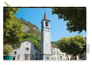 Church On Main Square, Varenna, Lake Carry-all Pouch