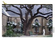 Church On Rosedale With A Dusting Of Snow Carry-all Pouch