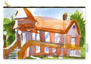 Church On Shepherd Street 4 Carry-all Pouch by Kip DeVore
