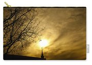 Church Steeple Clouds Parting Carry-all Pouch