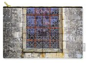 Church Window In Brittany Carry-all Pouch