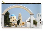 Churches Oia Santorini Greek Islands Carry-all Pouch