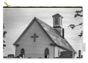Churchyard Bw Carry-all Pouch