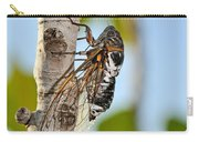 Cicada On Fig Tree Carry-all Pouch