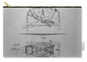Cider Mill Patent Drawing Carry-all Pouch