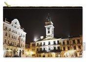 Cieszyn Town Center At Night Carry-all Pouch