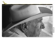 Cigar Maker Remembering His Past Carry-all Pouch by Rene Triay Photography