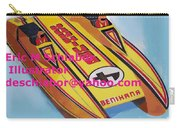 Cigarett Power Boat Illustration Carry-all Pouch