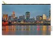 Cincinnati On The Riverfront Carry-all Pouch