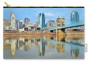 Cincinnati Skyline Reflects Carry-all Pouch