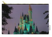 Cinderella Castle At Night  Carry-all Pouch