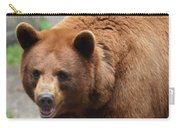 Cinnamon Black Bear Carry-all Pouch