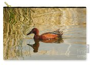 Cinnamon Teal Carry-all Pouch