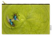 Circle Of Flies Carry-all Pouch