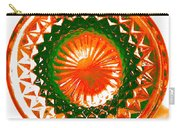 Circle Orange Carry-all Pouch