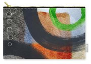 Circles 2 Carry-all Pouch by Linda Woods