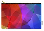 Circles In Colorful Abstract Carry-all Pouch