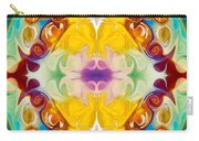 Circling The Unknown Abstract Healing Artwork By Omaste Witkowsk Carry-all Pouch
