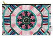 Circular Patchwork Art Carry-all Pouch by Barbara Griffin