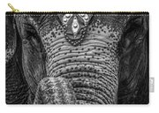 Circus Elephant Carry-all Pouch by Bob Orsillo