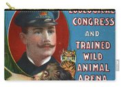 Circus Program, C1901 Carry-all Pouch