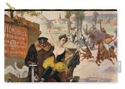 Circus Star Kidnapped Wilhio S Poster For De Dion Bouton Cars Carry-all Pouch