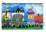 Circus Train Carry-all Pouch by Max Kaderabek Age Eight