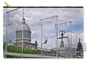 Cirque Carpe Diem Near Quays Along Saint Lawrence River In Montreal-qc Carry-all Pouch