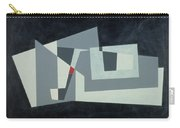 Citadel, Version 3, 1982 Oil On Hardboard Carry-all Pouch