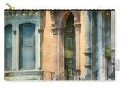 Cities - Albany Ny Brownstone Carry-all Pouch