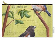 Citron Songbirds 1 Carry-all Pouch by Debbie DeWitt