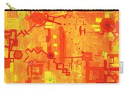 Citrus Circuitry Carry-all Pouch