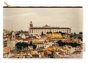 City And Cathedral Lisbon Portugal Carry-all Pouch
